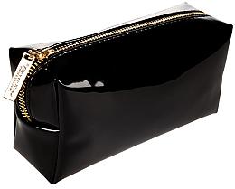 Parfémy, Parfumerie, kosmetika Kosmetická taška, černá se zlatým zipem - Pierre Rene Professional