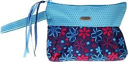Parfémy, Parfumerie, kosmetika Kosmetická taška Ribbons 93944, modrá - Top Choice