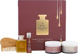 Parfémy, Parfumerie, kosmetika Sada, 5 produktů. - Aromatherapy Associates Moments Of Rose Indulgence Gift Set