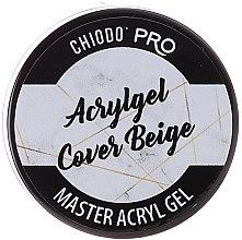 Parfémy, Parfumerie, kosmetika Gel na nehty - Chiodo Pro Acryl Gel Cover Beige