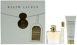 Parfémy, Parfumerie, kosmetika Ralph Lauren Woman By Ralph Lauren - Sada (edp/50ml+edp/10ml+b/lot/75ml)