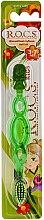 Parfémy, Parfumerie, kosmetika Dětský zubní kartáček, zelený - R.O.C.S. Kids