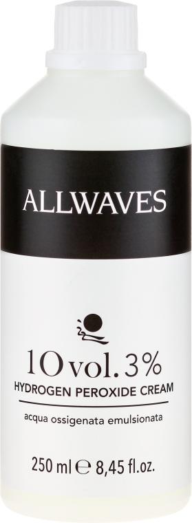 Krém-oxidační činidlo - Allwaves Cream Hydrogen Peroxide 3% — foto N1