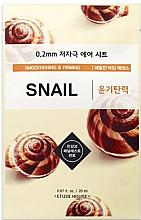 Parfémy, Parfumerie, kosmetika Anti-aging maska s extraktem z hlemýždího slizu - Etude House Therapy Air Mask Snail