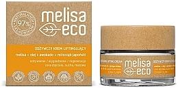 Parfémy, Parfumerie, kosmetika Vyživný liftingový krém na obličej - Melisa Eco