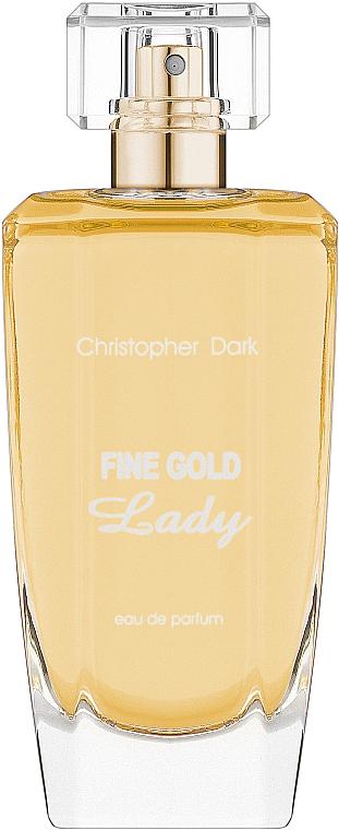 Christopher Dark Fine Gold Lady - Parfémovaná voda — foto N2