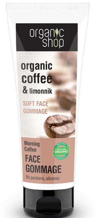 """Gomáže na obličej """"Ranní káva"""" - Organic Shop Gommage Face"""