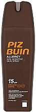 Parfémy, Parfumerie, kosmetika Ochranný tělový sprej - Piz Buin Allergy Sun Sensitive Skin Spray SPF15