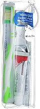 Parfémy, Parfumerie, kosmetika Cestovní sada pro ústní hygienu - White Glo Travel Pack (t/paste/24g + t/brush/1 + t/pick/8)