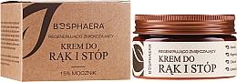 Parfémy, Parfumerie, kosmetika Obnovující změkčující krém na ruce a nohy - Bosphaera