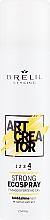 Parfémy, Parfumerie, kosmetika Eco sprej silná fixace - Brelil Art Creator Strong Ecospray
