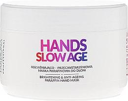 Parfémy, Parfumerie, kosmetika Maska na ruce, parafínová - Farmona Professional Hands Slow Age Brightening And Anti-ageing Paraffin Hand Mask