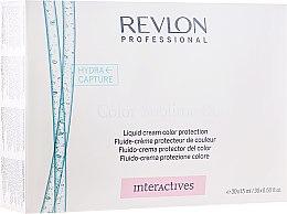Parfémy, Parfumerie, kosmetika Tekutý krém pro ochranu barvy vlasů - Revlon Professional Color Sublime Dose