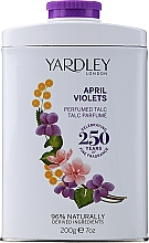 Parfémy, Parfumerie, kosmetika Yardley April Violets - Parfémovaný pudr
