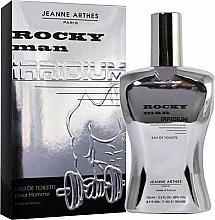 Parfémy, Parfumerie, kosmetika Jeanne Arthes Rocky Man Irridium - Toaletní voda