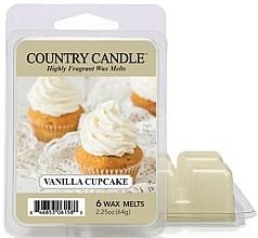 Parfémy, Parfumerie, kosmetika Vosk do aromalampy - Country Candle Vanilla Cupcake Wax Melts
