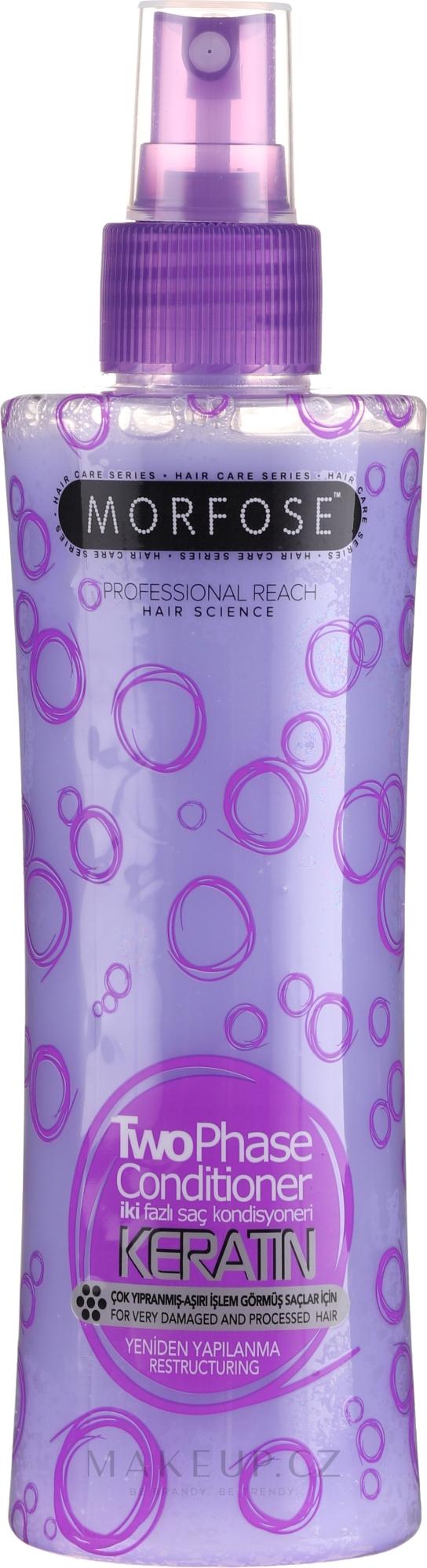 Dvoufázový kondicionér na vlasy - Morfose Buble Keratin Conditioner — foto 220 ml