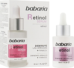 Parfémy, Parfumerie, kosmetika Sérum na obličej - Babaria Retinol Serum