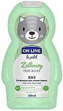 Parfémy, Parfumerie, kosmetika Přípravek na mytí vlasů, těla a obličeje Ovocné želé - On Line Le Petit Fruit Jellies 3 In 1 Hair Body Face Wash