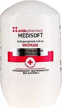 Parfémy, Parfumerie, kosmetika Antiperspirant - Anida Pharmacy Medisoft Woman Deo Roll-On