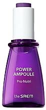 Parfémy, Parfumerie, kosmetika Vyživující a hydratační ampulové sérum na obličej - The Saem Power Ampoule Pro-nutri