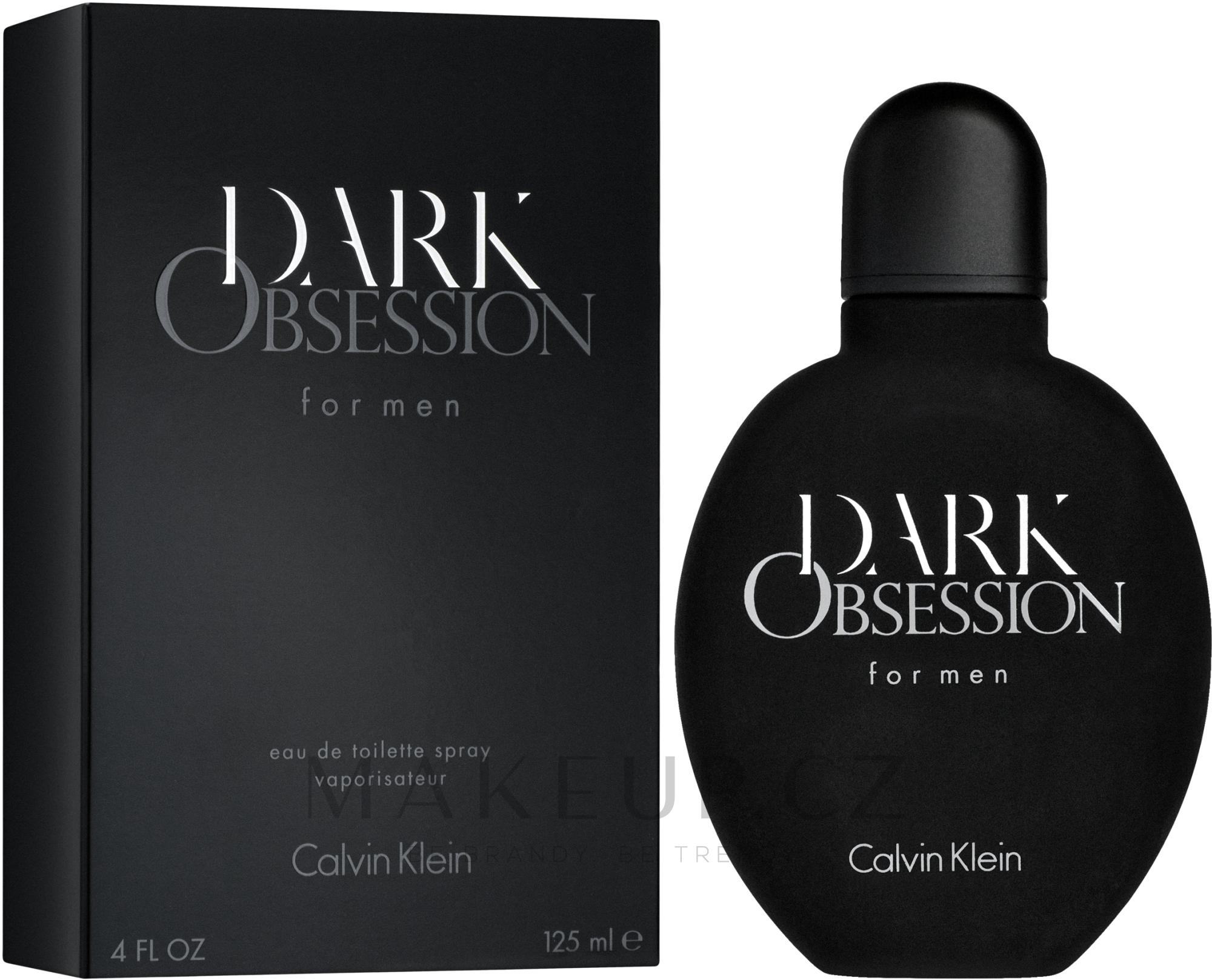 Calvin Klein Dark Obsession - Toaletní voda — foto 125 ml