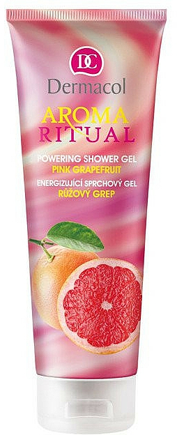 "Sprchový gel ""Růžový grapefruit"" - Dermacol Aroma Ritual Powering Shower Gel Pink Grapefruit — foto N1"