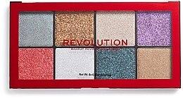 Parfémy, Parfumerie, kosmetika Paletka třpytek - Makeup Revolution Halloween 2019 Pressed Glitter Palette
