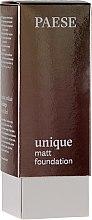 Parfémy, Parfumerie, kosmetika Matující podkladová báze - Paese Unique Matt Foundation