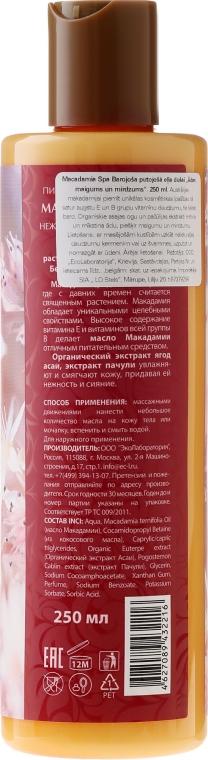 Vyživný pěnivý olej do sprchy pro jemnou a zářící pokožku - ECO Laboratorie Macadamia SPA Shower Oil — foto N2