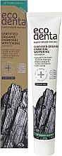 Parfémy, Parfumerie, kosmetika Organická černá bělící zubní pasta - Ecodenta Certified Cosmos Organic Black Whitening Toothpaste