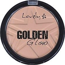 Parfémy, Parfumerie, kosmetika Pudr na obličej - Lovely Golden Glow Powder