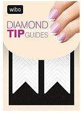 Parfémy, Parfumerie, kosmetika Nálepka-šablon na francuzskou manikúru - Wibo Diamond Manicure Tip Guides
