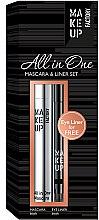 Parfémy, Parfumerie, kosmetika Sada - Make up Factory All in One Mascara & Liner Set (mascara/9ml + liner/0.31g)