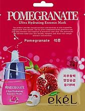 Parfémy, Parfumerie, kosmetika Regenerační plátýnková maska s extraktem granátového jablka - Ekel Pomegranate Ultra Hydrating Essence Mask