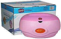 Parfémy, Parfumerie, kosmetika Profesionální ohřívač depilačních vosků RE 00001, růžový - Ronney Profesional Paraffin Wax Heater