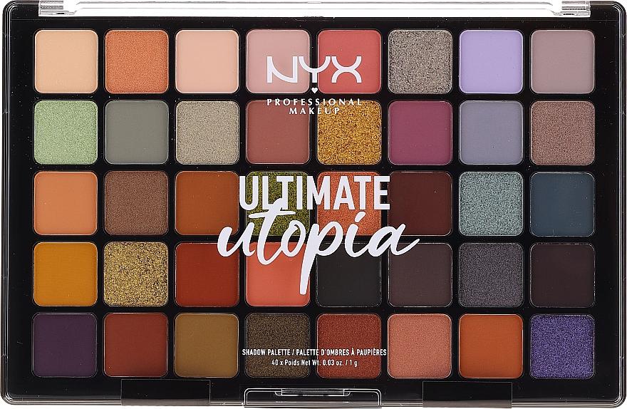 Paleta očních stinů - NYX Ultimate Utopia Shadow Palette Summer 2020