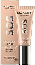 Parfémy, Parfumerie, kosmetika Krém a maska 2v1 na oči - Madara Cosmetics SOS Eye Revive Hydra Cream & Mask