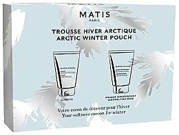 Parfémy, Parfumerie, kosmetika Sada - Matis Reponse Artic Winter Pouch (f/balm/50ml + f/mask/50ml)