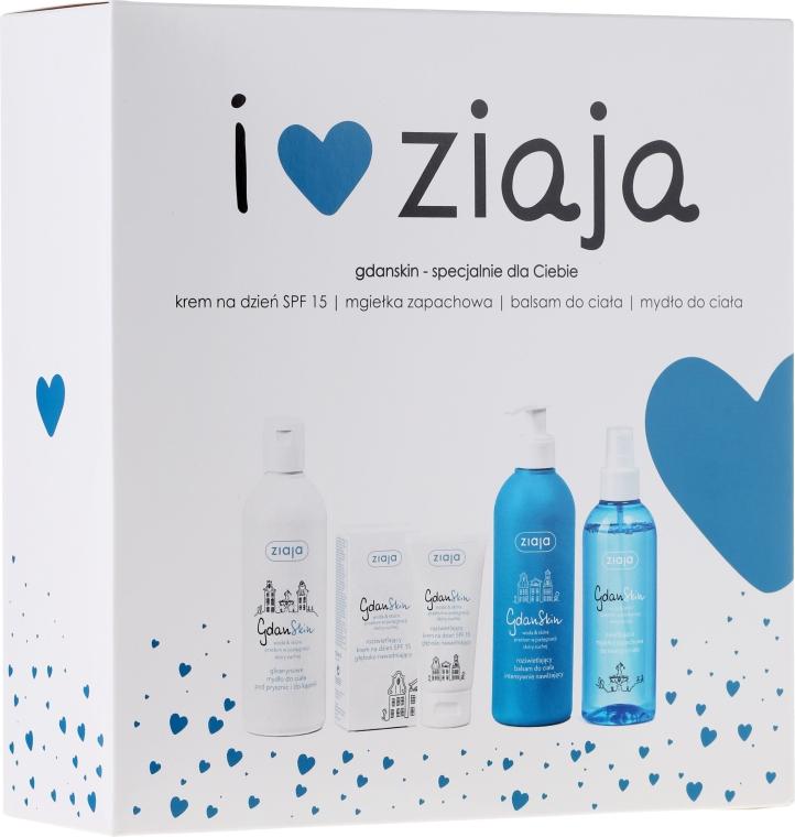 Sada - Ziaja GdanSkin (cr/50ml + spray/200ml + balm/300ml + soap/300ml)