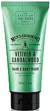 Parfémy, Parfumerie, kosmetika Šampon a sprchový gel Vetiver a santalové dřevo - Scottish Fine Soaps Vetiver & Sandalwood Hair Body Wash