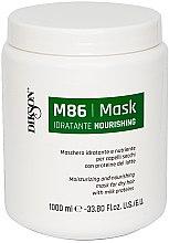Parfémy, Parfumerie, kosmetika Hydratační maska pro suché vlasy s proteiny mléka - Dikson M86 Nourishing Mask
