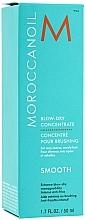 Fénovací koncentrát pro snadný styling a zkrocení krepatých vlasů - Moroccanoil Smooth Blow-Dry Concentrate — foto N3