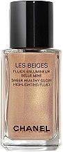 Parfémy, Parfumerie, kosmetika Rozjasňující fluid - Chanel Les Beiges Sheer Healthy Glow Highlighting Fluid