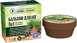 Parfémy, Parfumerie, kosmetika Balzám na nohy 5 v 1 proti otokům a únavě - ECO Laboratorie Herbal Therapy