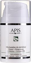 Parfémy, Parfumerie, kosmetika Směs kyselin na peeling - APIS Professional Fit + Pirpgron + Milk + Ferulic 40%