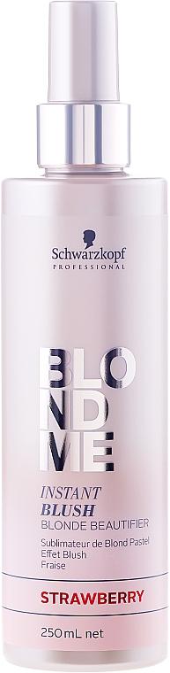 Tónovací sprej - Schwarzkopf Professional BlondMe Instant Blush Spray — foto N2