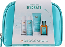 Parfémy, Parfumerie, kosmetika Sada  - Moroccanoil Hydrate (shmp/70ml + cond/70ml + mask/75ml + oil/25ml)