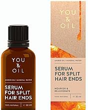 Parfémy, Parfumerie, kosmetika Sérum proti roztřepeným konečkům - You & Oil Amber. Serum For Split Hair Ends