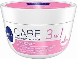 Parfémy, Parfumerie, kosmetika Změkčující krém pro suchou plet' - Nivea Care Light Soothing Cream